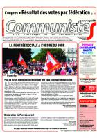 Journal CommunisteS n°739